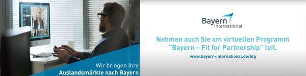 """Weitere virtuelle Projekte der Programmreihe """"Bayern – Fit for Partnership"""" für 2021 geplant"""