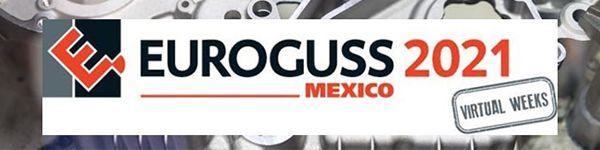 """Werden Sie Aussteller auf der """"Euroguss Mexico –Virtual Weeks"""""""